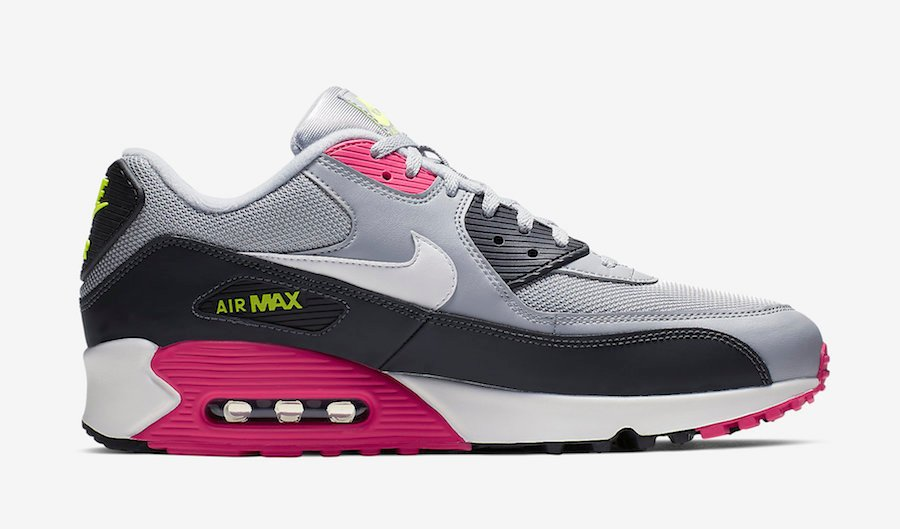 Nike Air Max 95 Grey Pink Volt AJ1285-020 Release Date