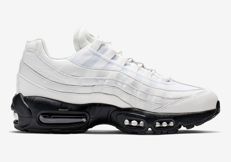 Nike Air Max 95 Summit White Black AQ4138-102 Release Date