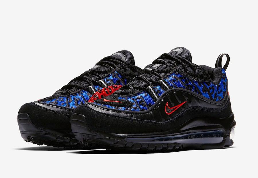 Nike Air Max 98 Black Leopard BV1978-001 Release Date | SneakerFiles