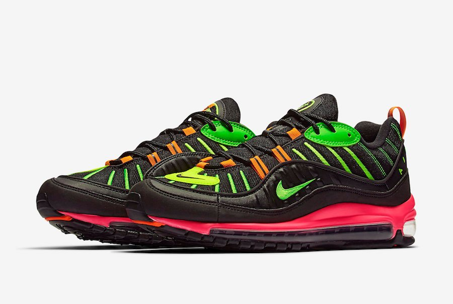 Nike Air Max 98 Neon Highlighter CI2291-083 Release Date