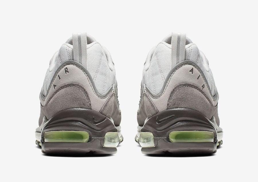 Nike Air Max 98 Vast Grey Fresh Mint 640744-011 Release Date