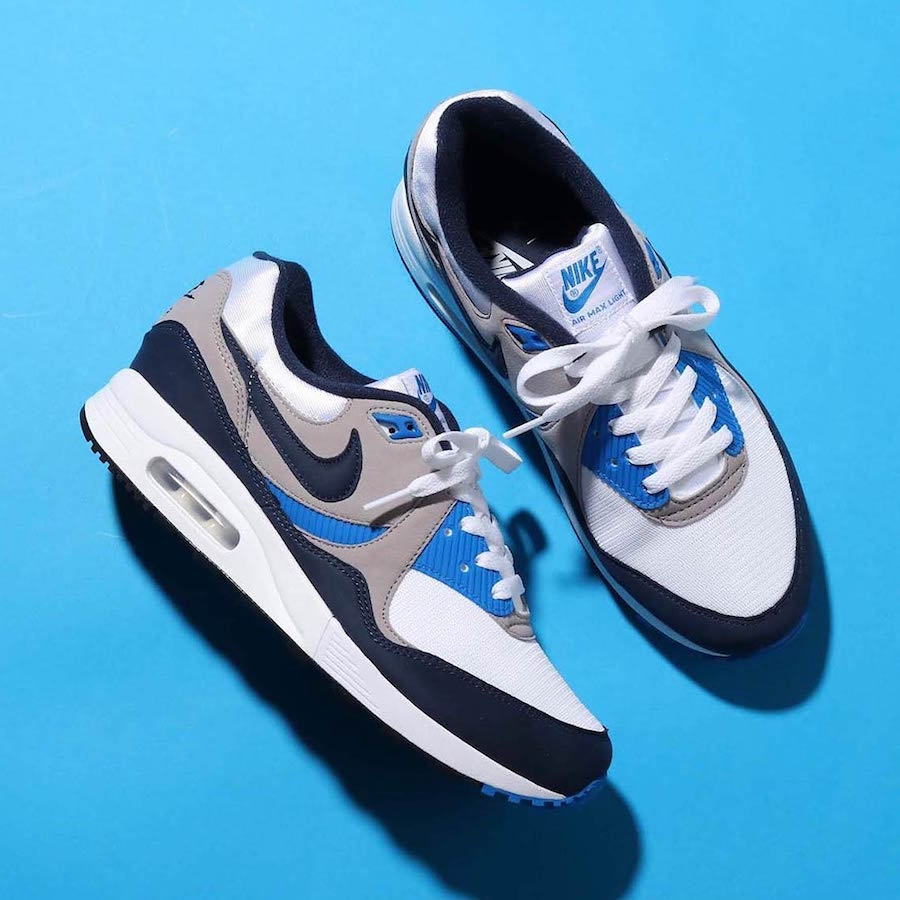 94a0a6d576336e Nike Air Max Light OG Blue AO8285-100 Release Date