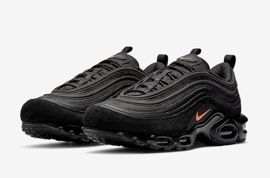 air max 97 grise et orange