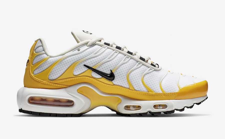 Nike Air Max Plus White Yellow CD7061-700 Release Date