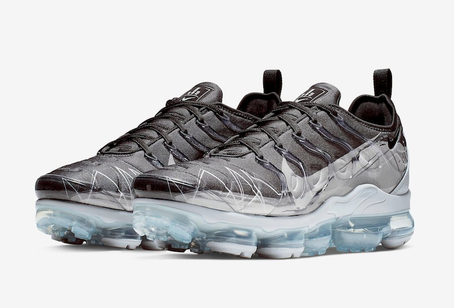 71ba7a7bf12 Nike Air VaporMax Plus Black Wolf Grey BV7827-001 Release Date ...