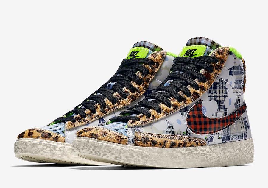 Nike Blazer Mid Gel Prints CJ4239-981 Release Date