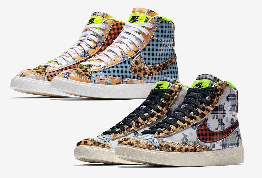 Nike Blazer Mid Gel Prints