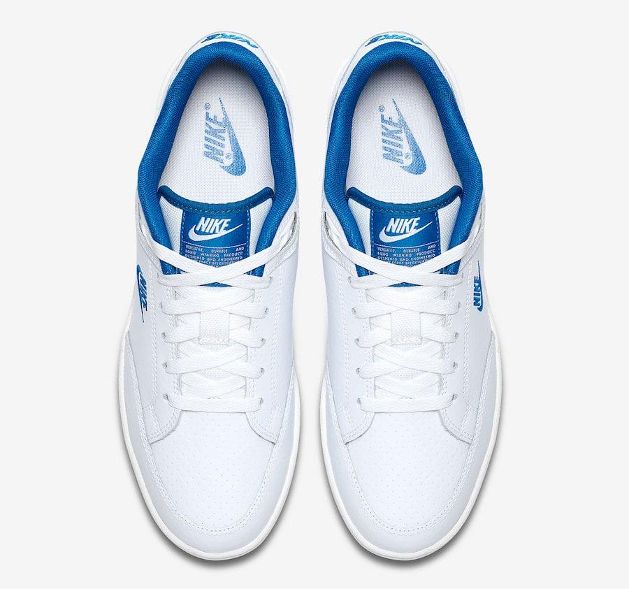 e7990964 Nike Grandstand II White Team Royal AA2190-103 Release Date ...