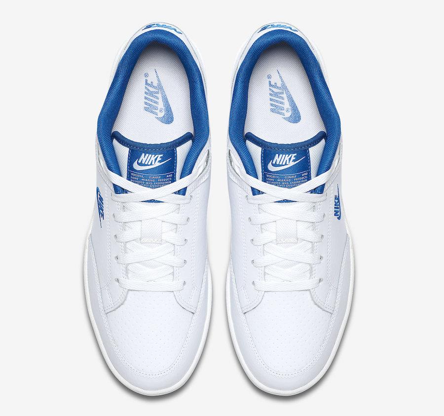 8721dc0a Nike Grandstand II White Team Royal AA2190-103 Release Date ...