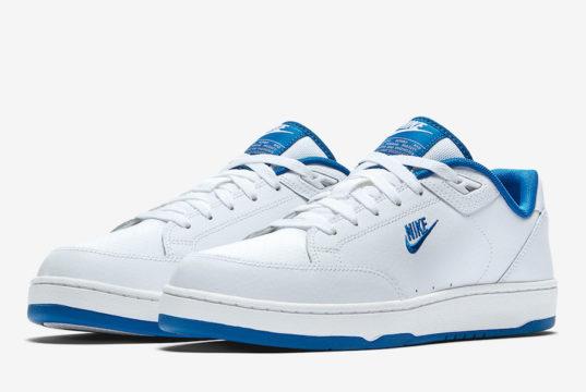 Nike Grandstand II White Team Royal AA2190-103 Release Date