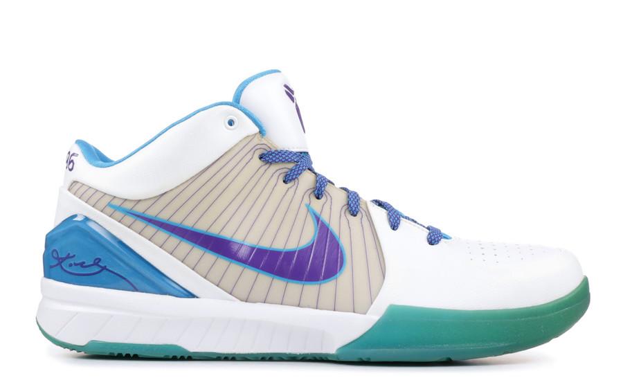 Nike Kobe 4 Protro Draft Day White Orion Blue Varsity Purple AV6339-100 Release Date