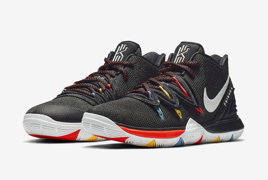 8e020ee1b178 Nike Kyrie 5 Friends AQ2456-006 Release Date