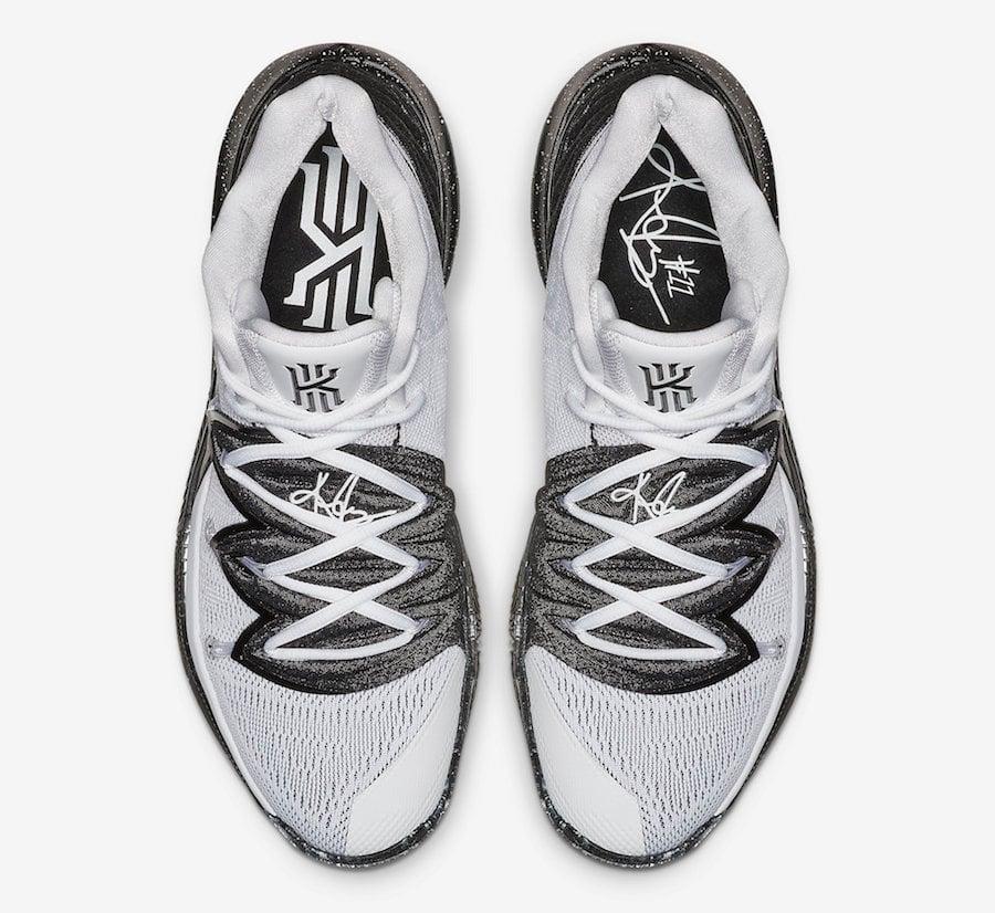 Nike Kyrie 5 Oreo White Black AO2918-100 Release Date Info