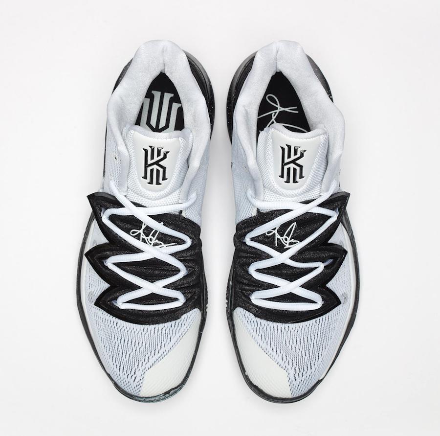 Nike Kyrie 5 Oreo White Black AO2918-100 Release Date