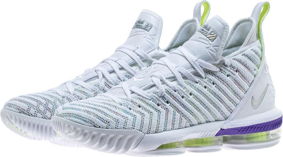 260c376592476 Nike LeBron 16 Buzz Lightyear AO2588-102 Release Date Price