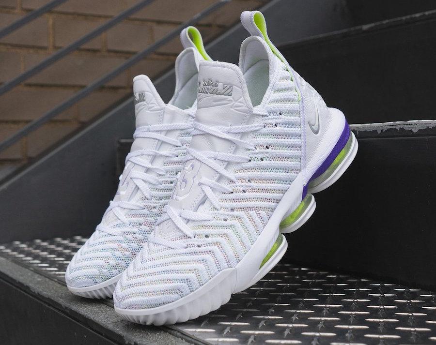 Nike LeBron 16 Buzz Lightyear AO2588-102 Release Date