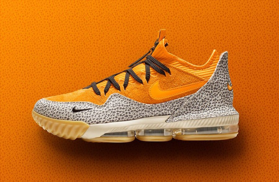 Nike LeBron 16 Low atmos Safari Release Date