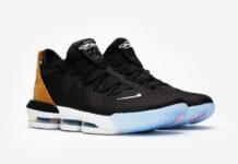 Nike LeBron 16 Low Black Tan CI2668-001 Release Date