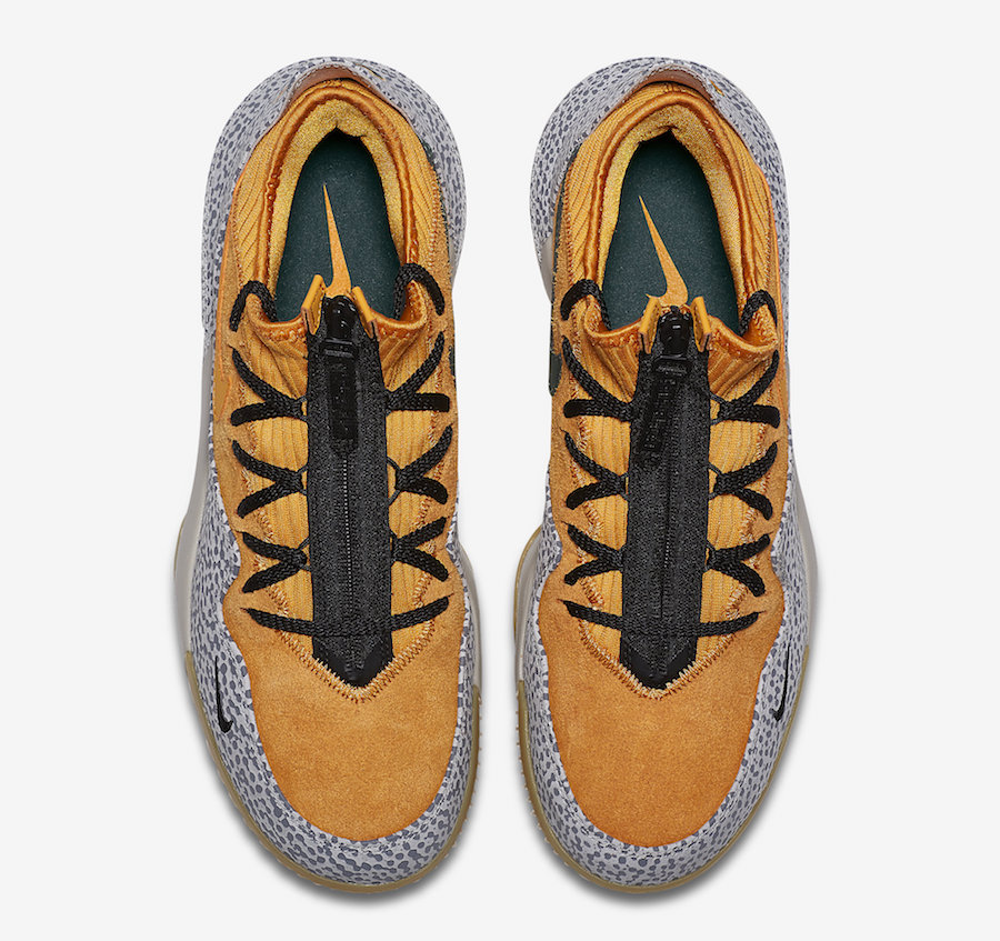 Nike LeBron 16 Low Safari atmos CI3358-800 Release Date