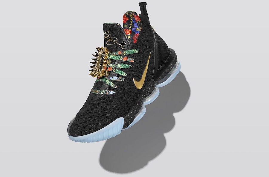 Nike LeBron 16 Watch Kings Throne Release Date
