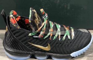 Nike LeBron 16 Watch The Throne CI1518-001 Release Date Price