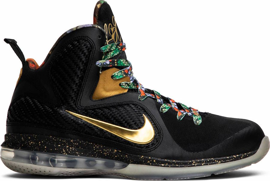 buy popular 56d26 74ad9 Nike LeBron 9 Watch The Throne Sample Black