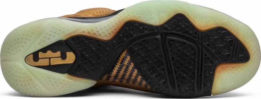 Nike LeBron 9 Watch The Throne Sample Metallic Gold