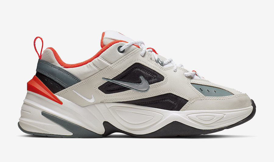 Nike M2K Tekno Light Bone Turf Orange CI2969-001 Release Date