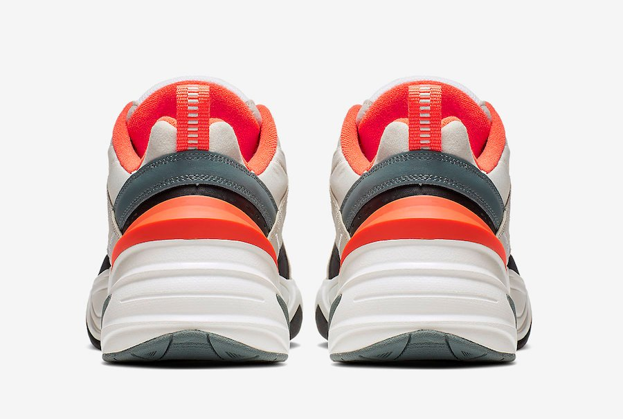 quality design 9adfa 70222 Nike M2K Tekno Light Bone Turf Orange CI2969-001 Release Date