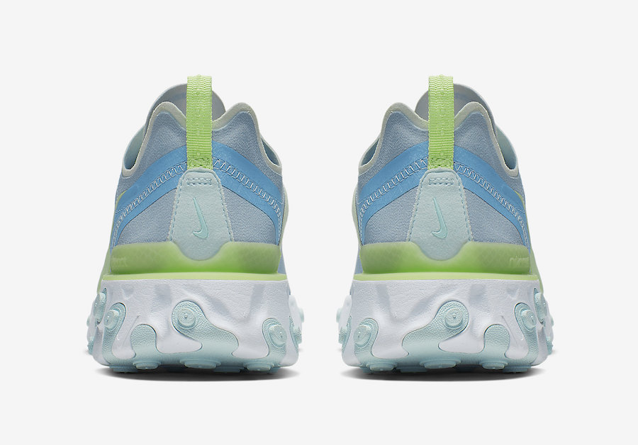 Nike React Element 55 Frosted Spruce BQ2728-100 Release Date