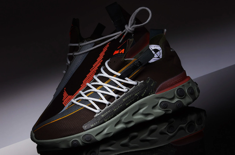 Nike React WR ISPA Velvet Brown Terra Orange AR8555-200 Release Date