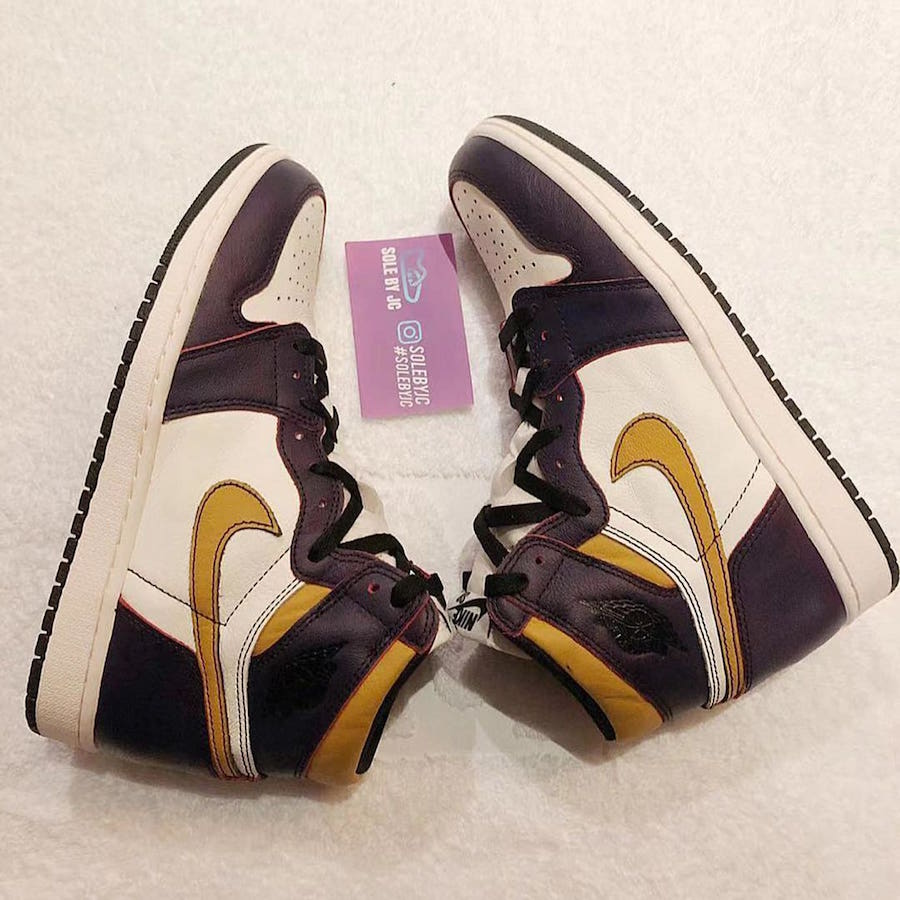 Nike SB Air Jordan 1 Lakers CD6578-507 Release Date