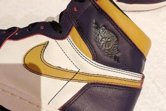 Nike SB Air Jordan 1 Lakers CD6578-507 Release Date