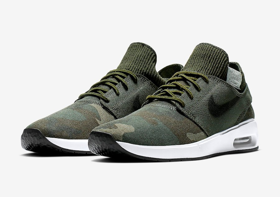 Nike SB Air Max Janoski 2 Camo AT5878-203 Release Date | SneakerFiles