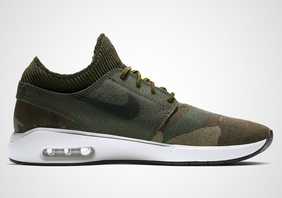 Nike SB Air Max Janoski 2 Camo AT5878-203 Release Date