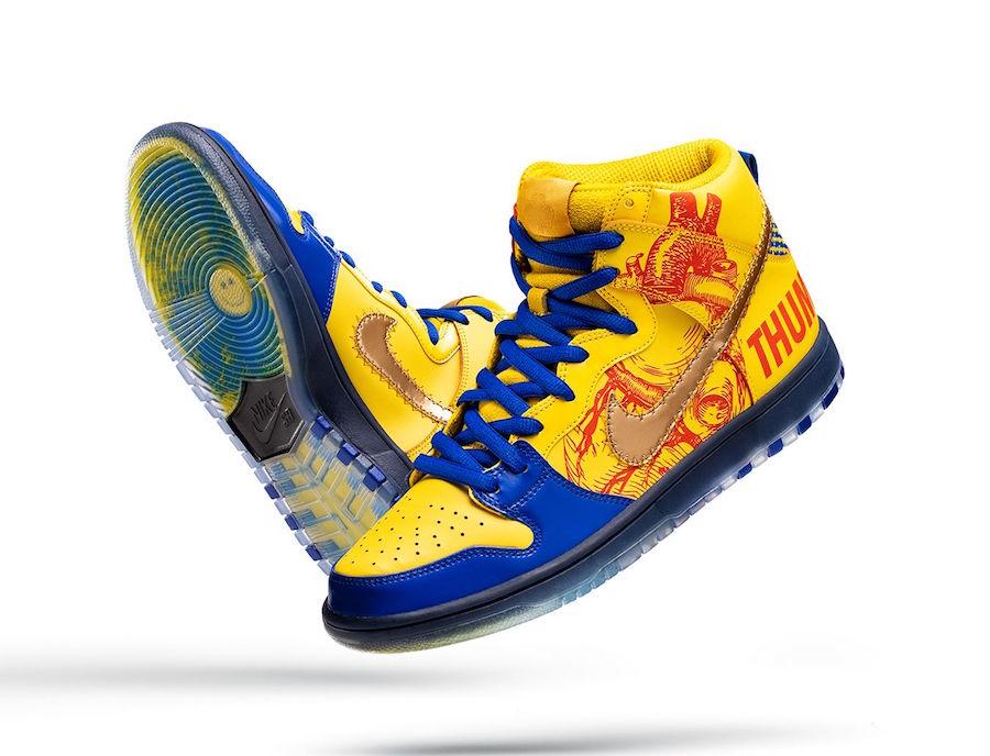 Nike SB Dunk High Doernbecher DB 579603-740 Release Date