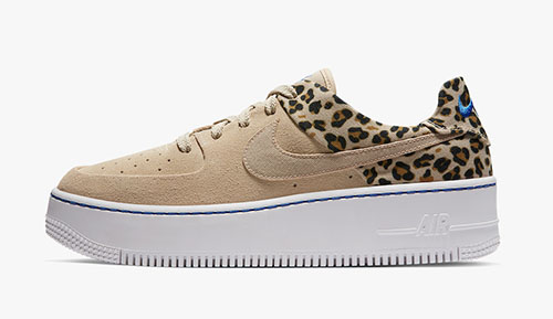 Nike WMNS Air Force 1 Sage Leopard Pack