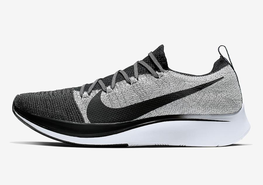 Nike Zoom Fly Flyknit Black White BV6103-001 Release Date