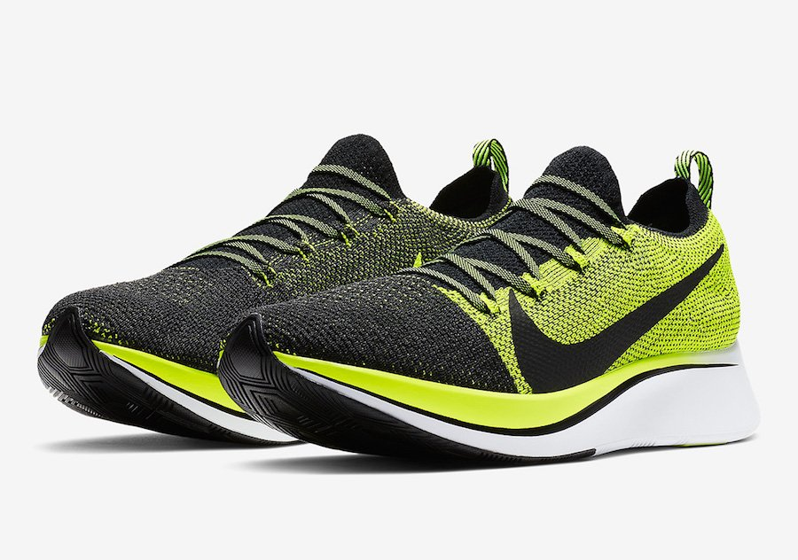 Nike Zoom Fly Flyknit Volt BV6103-002 Release Date