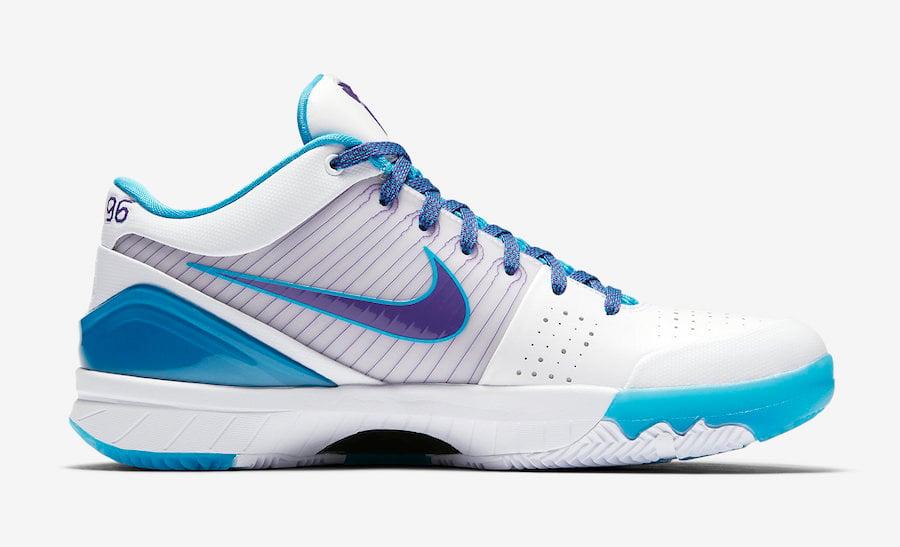 Nike Zoom Kobe 4 IV Protro Draft Day Charlotte AV6339-100 Release Date