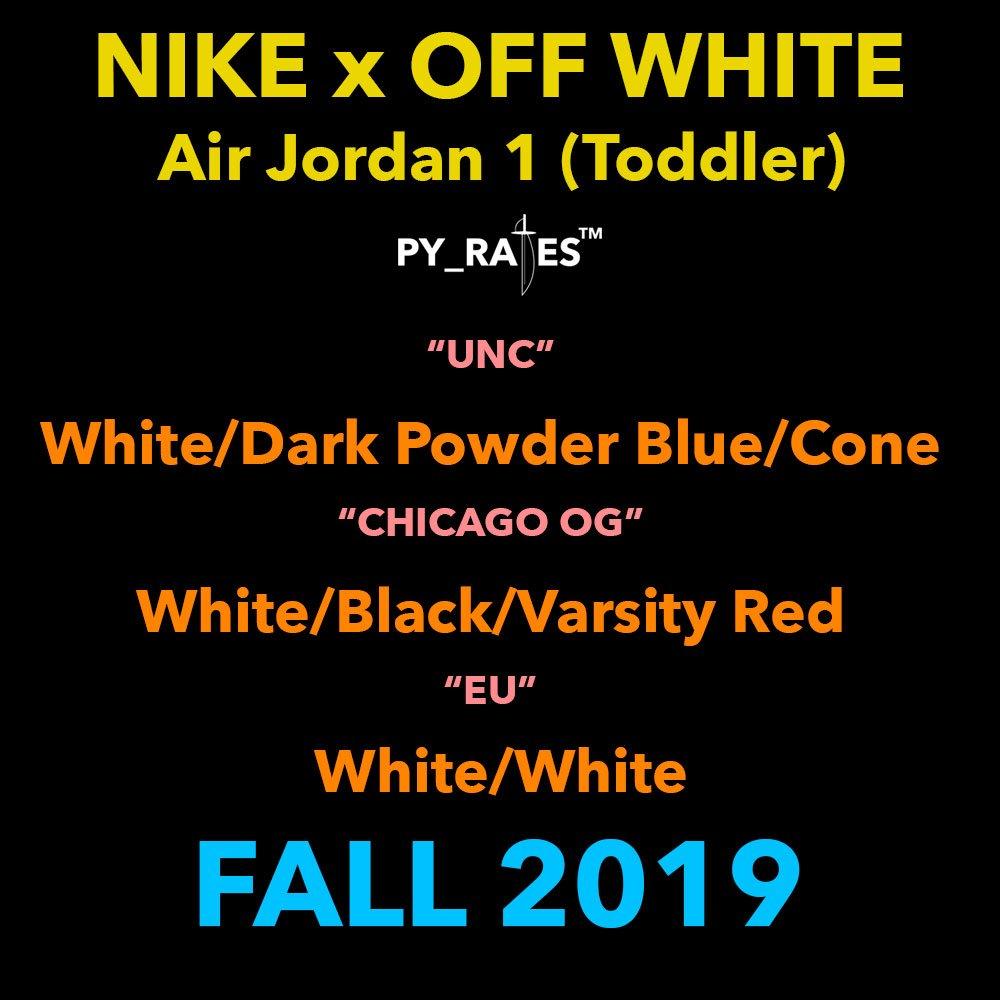 Off-White Air Jordan 1 Toddler