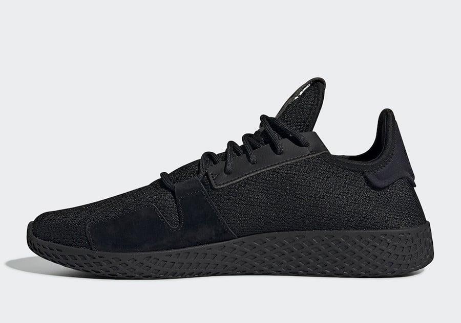 Pharrell adidas Tennis Hu V2 Black DB3326 Release Date