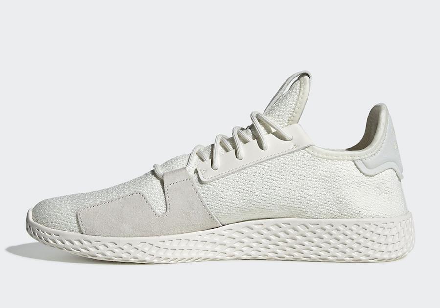 Pharrell adidas Tennis Hu V2 White DB3327 Release Date