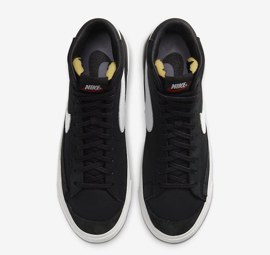 Slam Jam Nike Blazer Mid Black White CD8233-001 Release Date Info