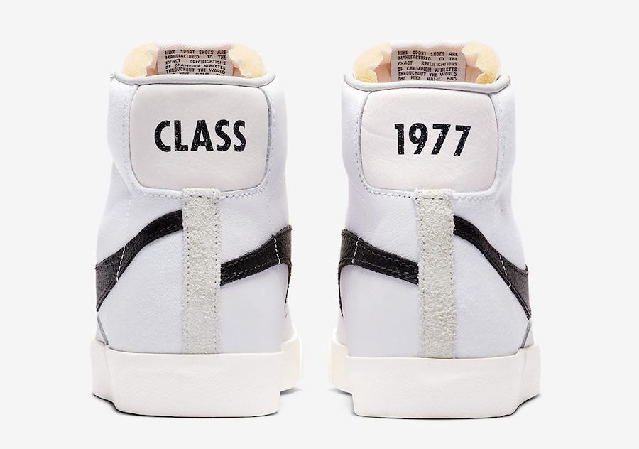 Slam Jam Nike Blazer Mid Class 1977 CD8233-100 Release Date
