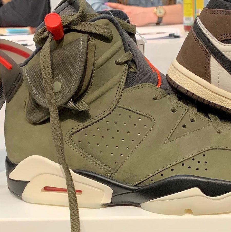 Travis Scott Air Jordan 6 Cactus Jack