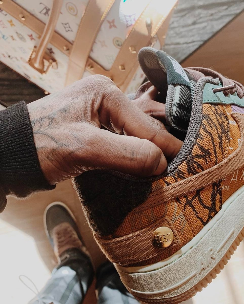 Travis Scott Nike Air Force 1 Low Release Date