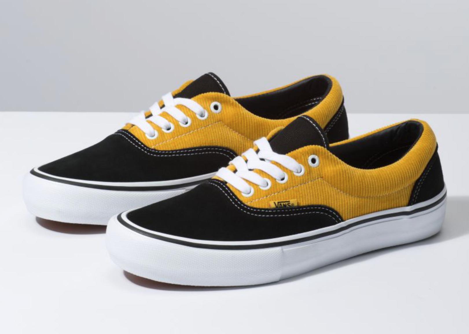 Vans Era Yellow Corduroy