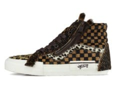 Vans SK8-Hi Cut and Paste Animal Print