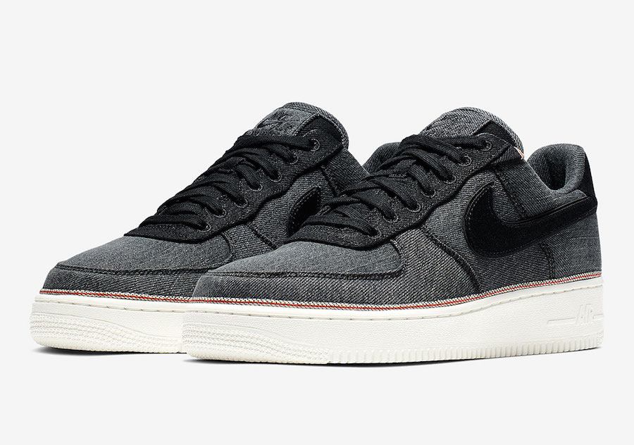 3x1 Nike Air Force 1 Denim 905345-006 Release Date